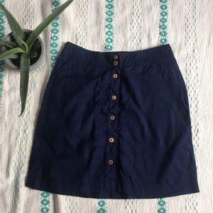 Navy Patagonia skirt